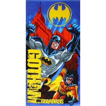 Plážová osuška Batman a Robin 70 x 140 cm