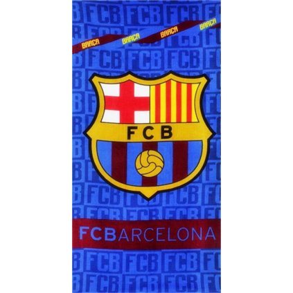 Plážová osuška FC Barcelona 70 x 140 cm