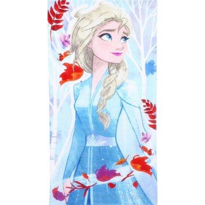 Plážová osuška Ledové království Elsa 70 x 140 cm