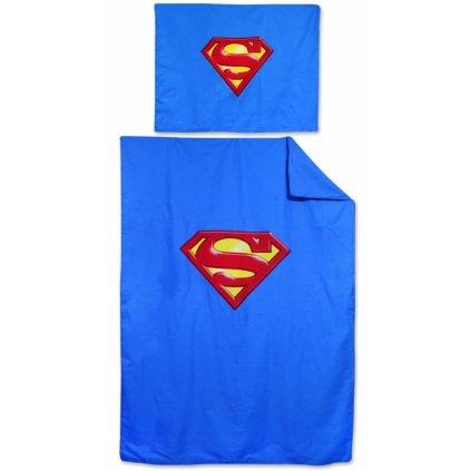 Dětské dvoudílné povlečení 140 x 200 cm Superman