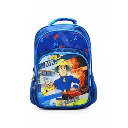 Školní batoh požárník Sam modrá/modrá obr. 1