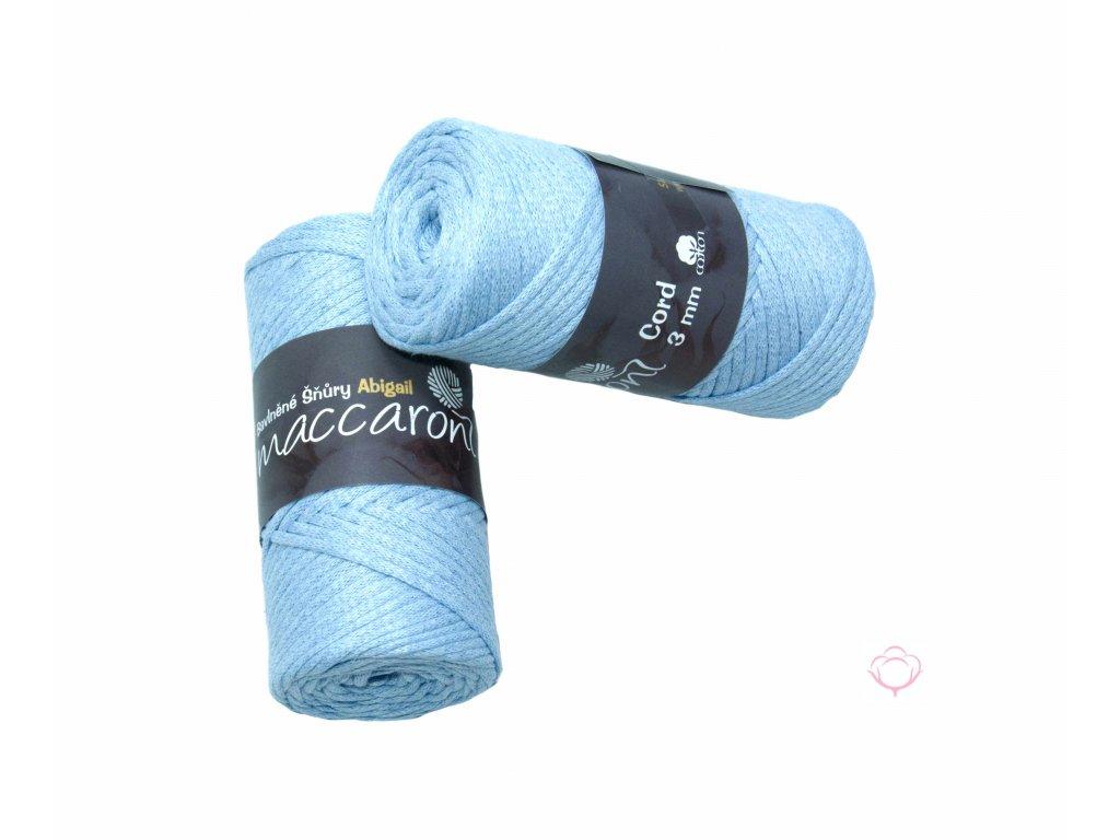 bavlnena snura abigail 3mm blankytna modr16