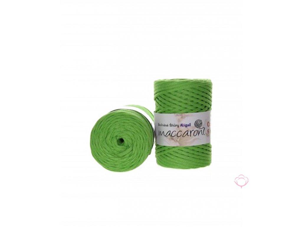 bavlnena snura abigail 5mm zelena22