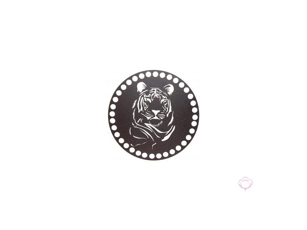 Vyřezávané víko - 15 cm wenge