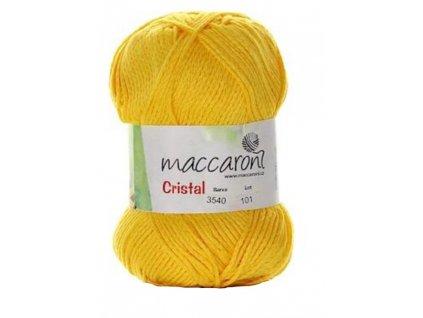 Cristal žlutá 3540