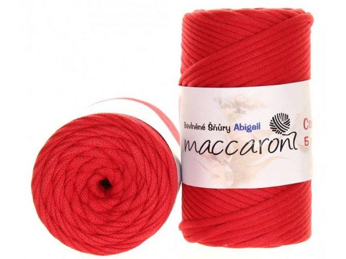 bavlnena snura abigail 5mm cervena 13