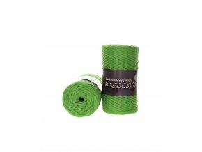 bavlnena snura abigail 3mm pistaciova22