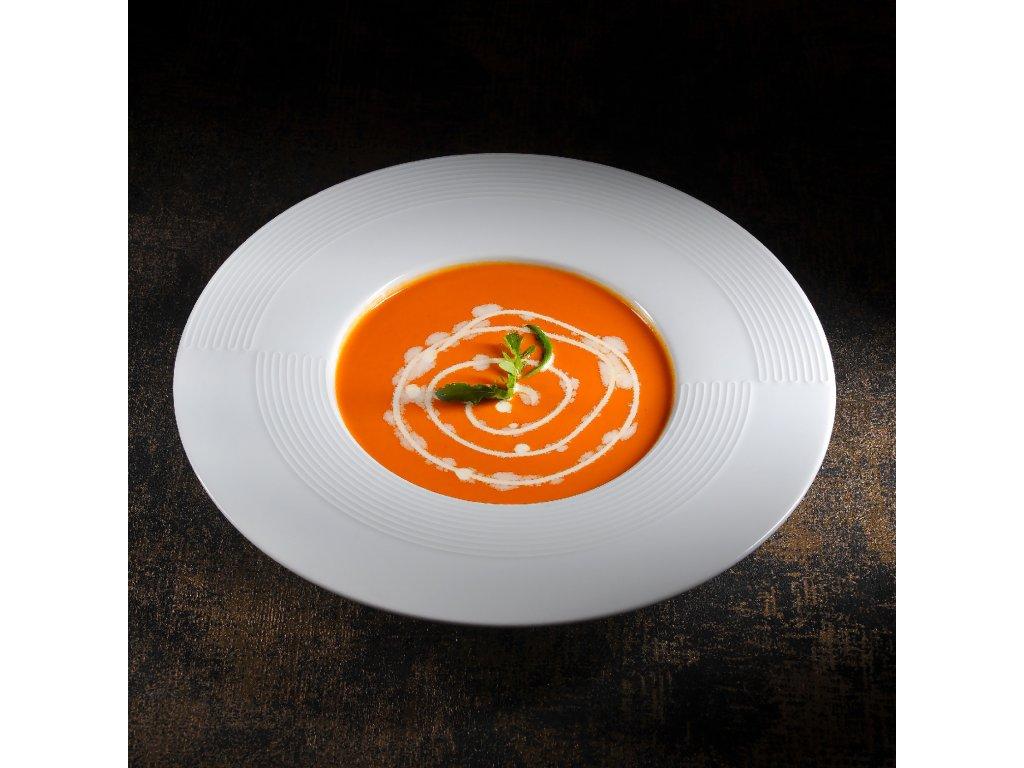 Tomatovo čočková polévka