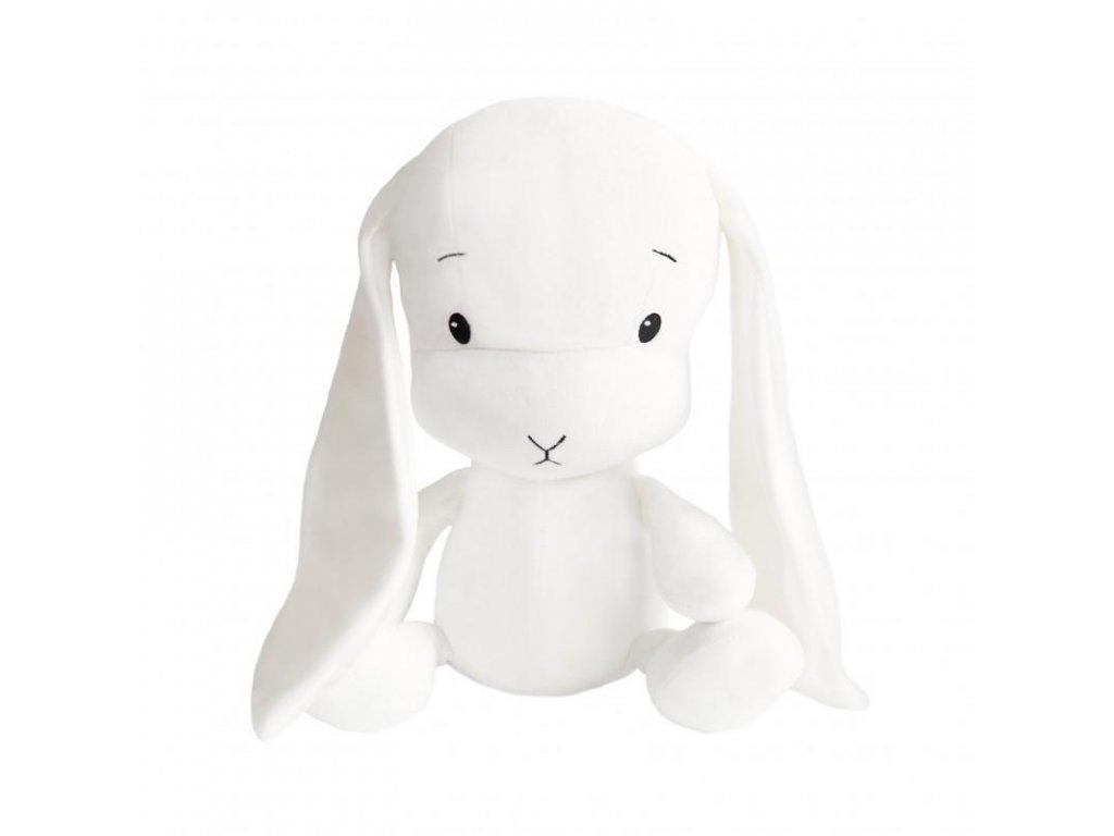 Effík Bunny bílý s bílými oušky - L