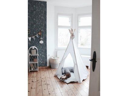 linen tipi white room decoration interior design playing room moimili(11)