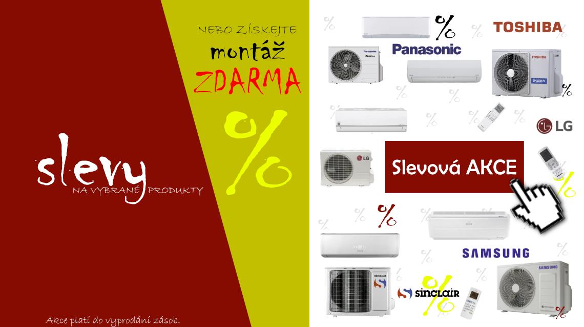 Získejte slevy na vybrané zboží nebo montáž ZDARMA!