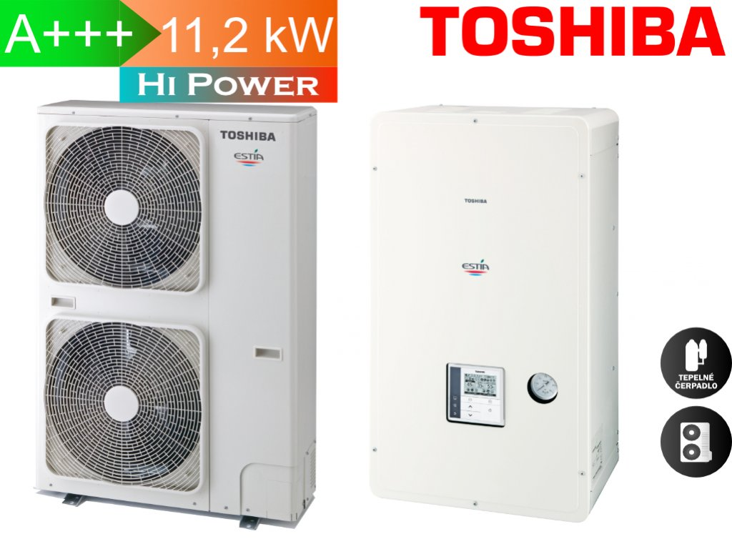 Toshiba Estia 11,2 kw hi power