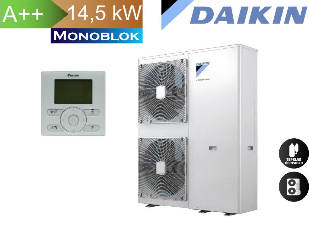 Daikin monoblok 14,5 3