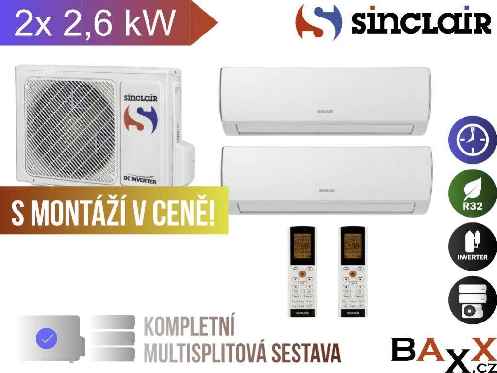 Sinclair Vision 2x 2,6 kW