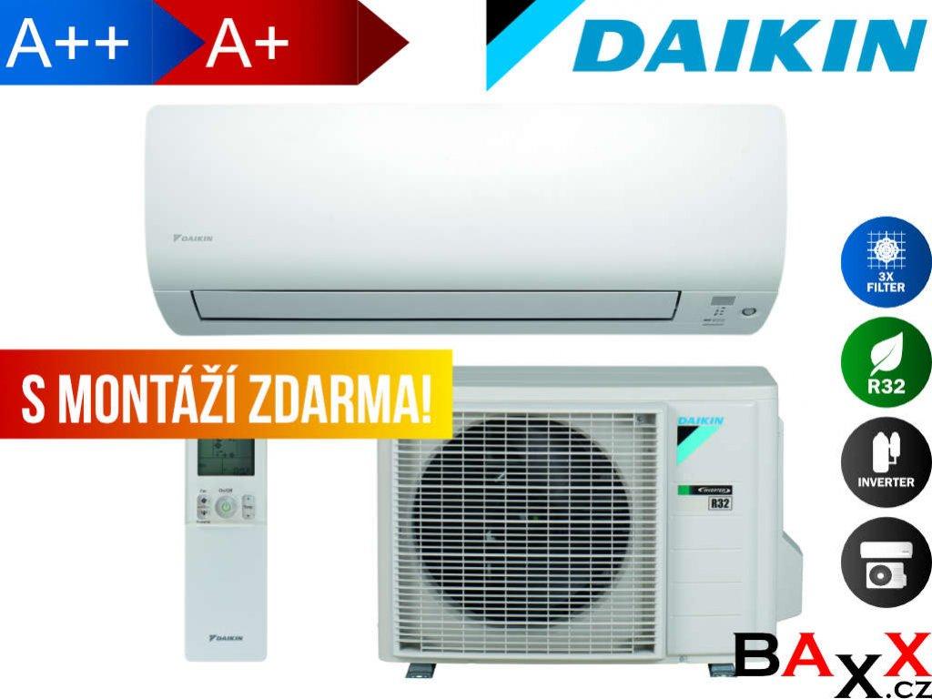 Daikin Sensira s montáží v ceně