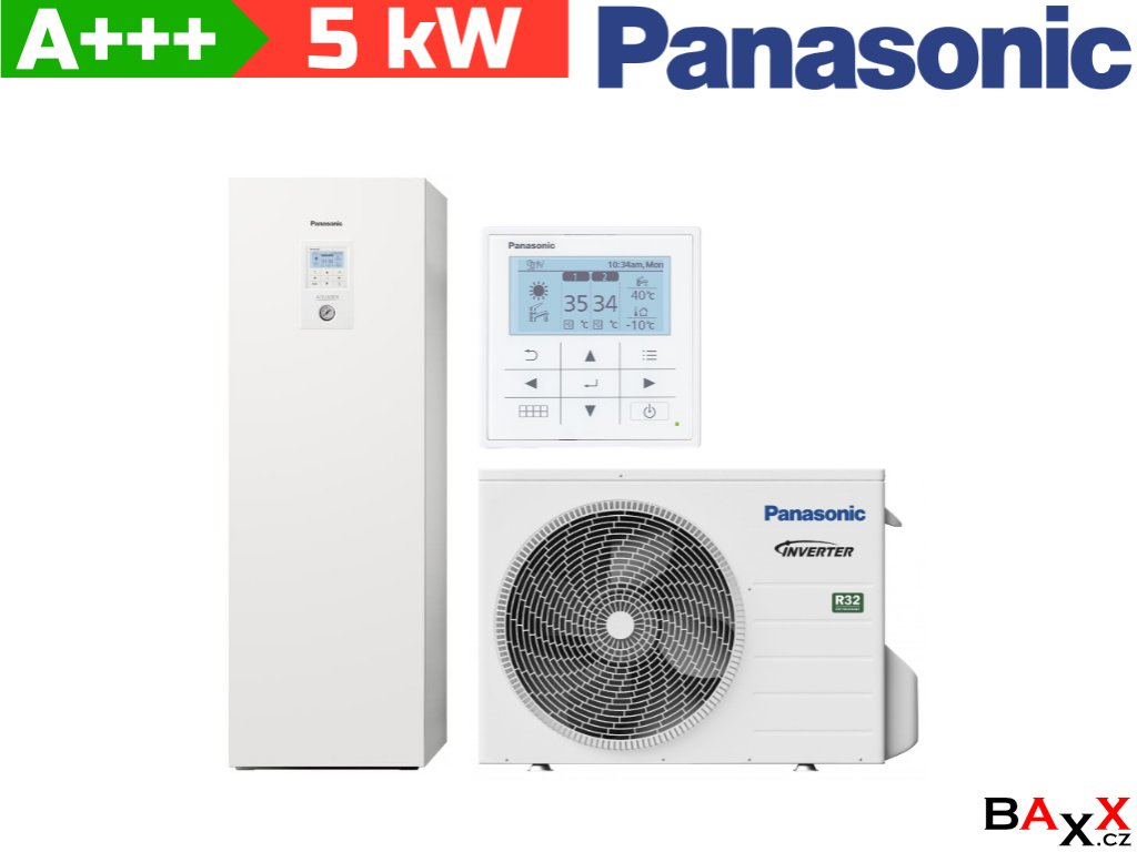 Panasonic Aquarea All in one 5 kW