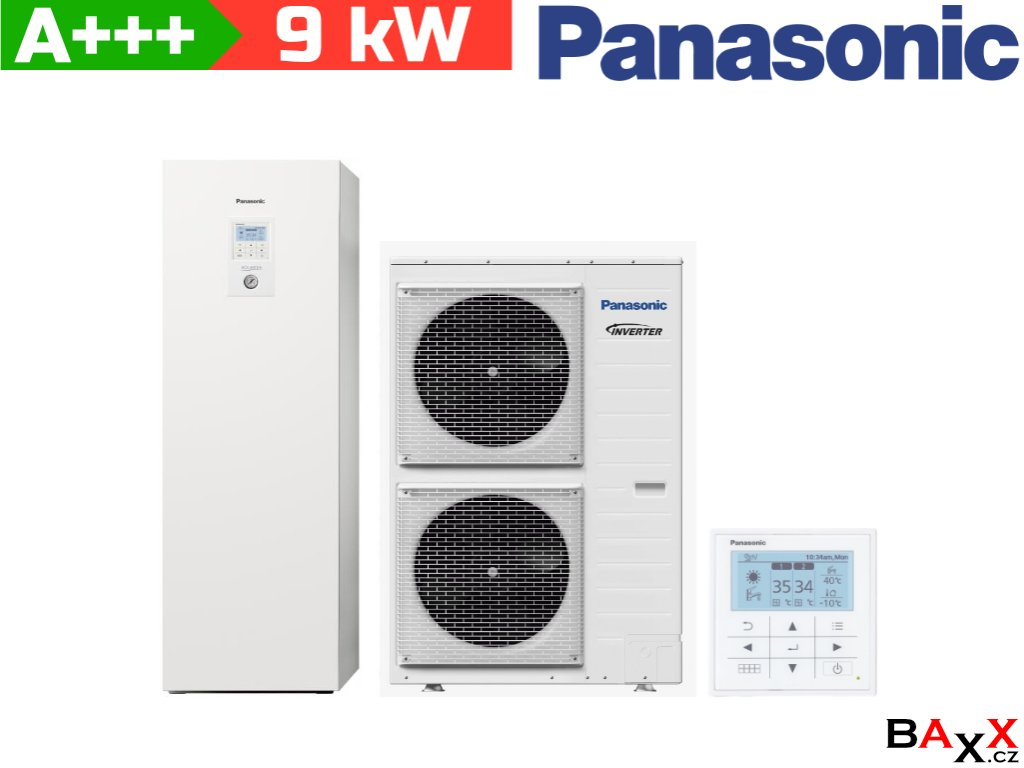 Panasonic Aquarea All in one 9 kW 400 V