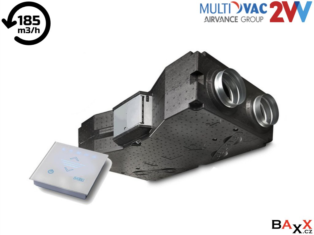 Venus Comfort 150 AC, předehřev HRV 15AC E 54 R