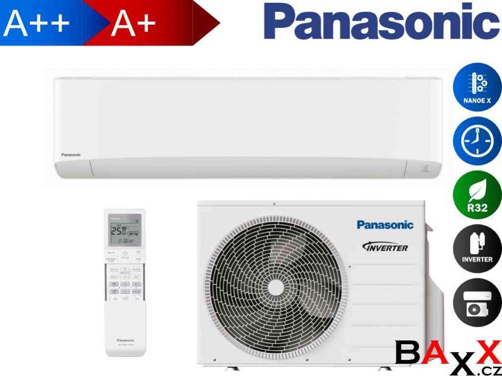 Panasonic Etherea bílá 4,2 kW