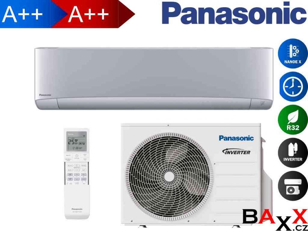 Panasonic Etherea stříbrná 2,0 kW