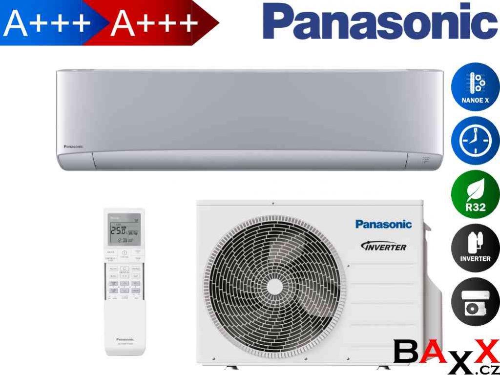 Panasonic Etherea stříbrná 3,5 kW