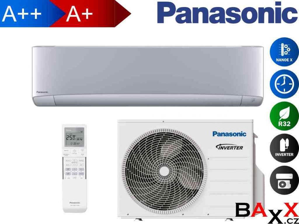 Panasonic Etherea stříbrná 7,1 kW
