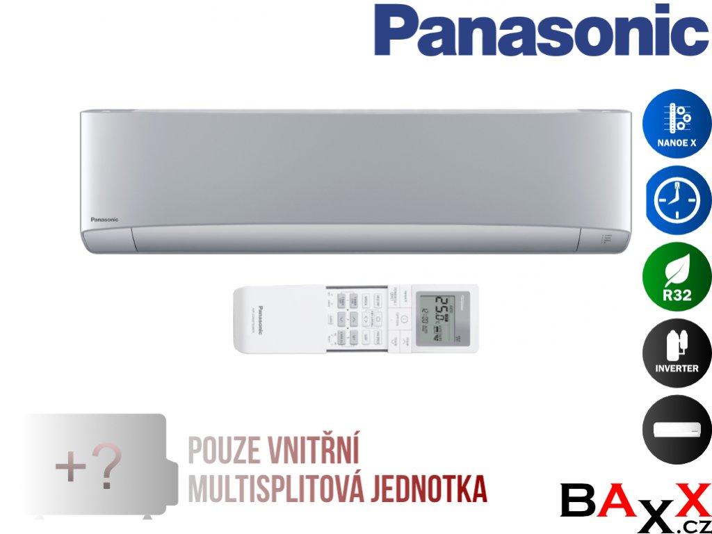 Panasonic Etherea stříbrná jednotka multisplit