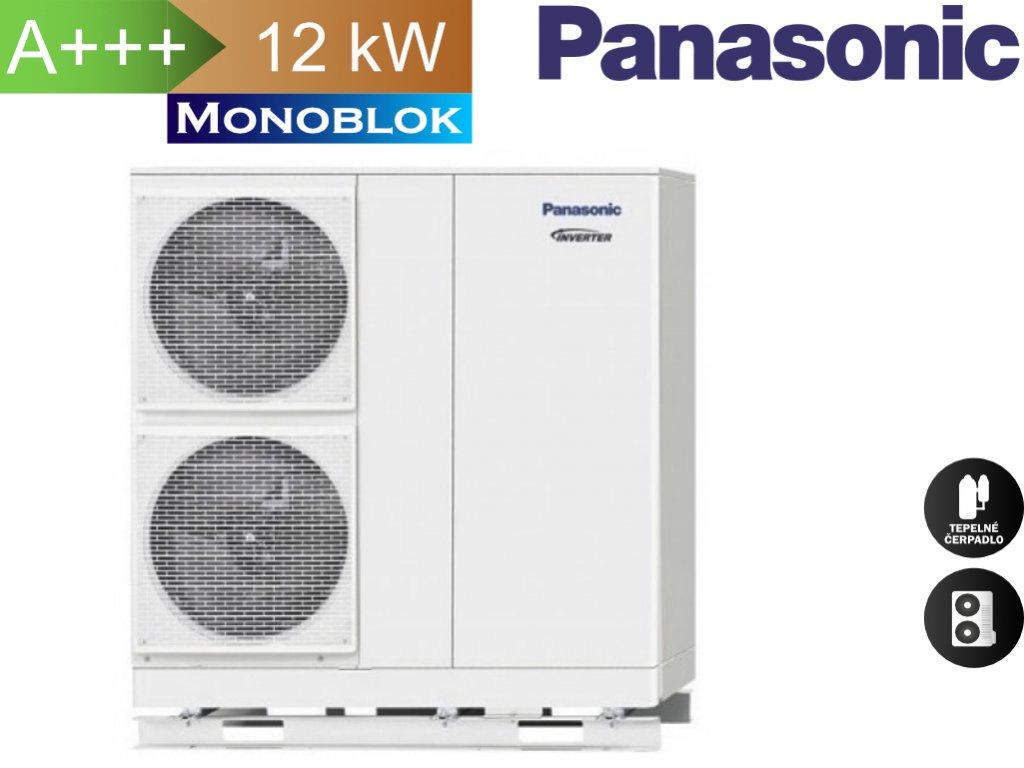 Panasonic monoblok 12,0 kW