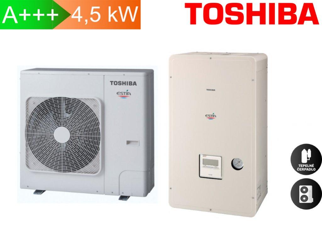 Toshiba Estia 4,5 kw