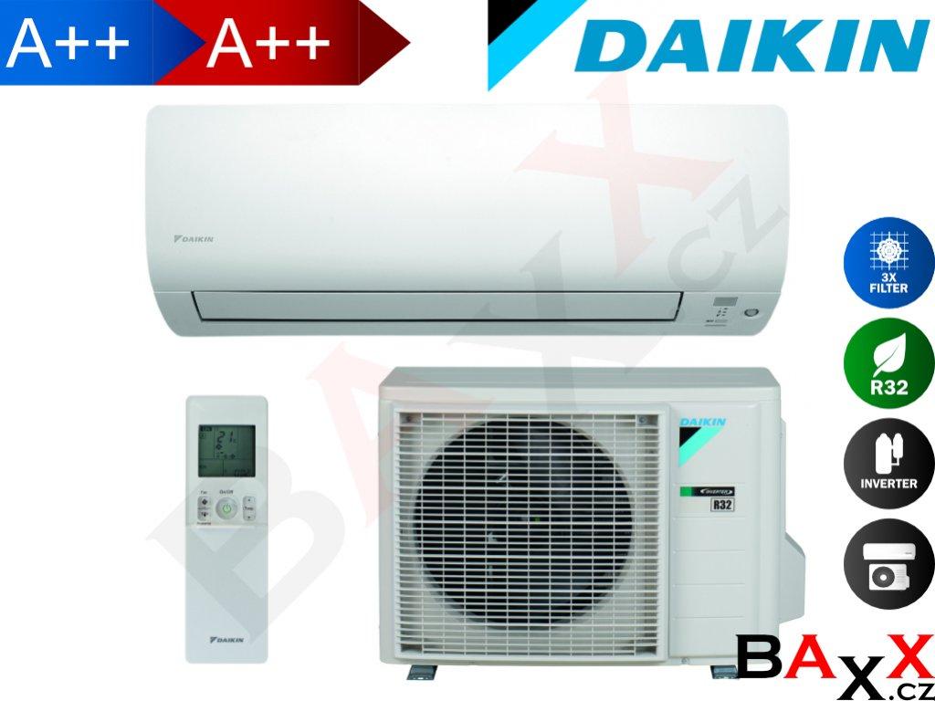 Daikin Comfora optimalizováno pro vytápění