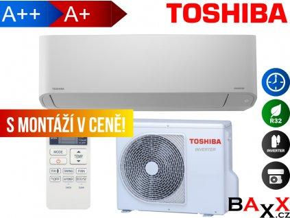 Toshiba Seiya s montáží v ceně
