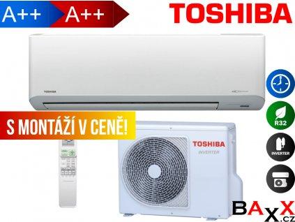 Toshiba Suzumi Plus s montáží v ceně
