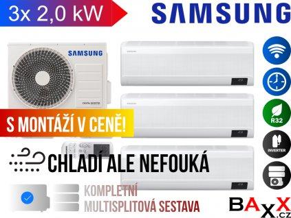 Samsung multisplit wind free comfort 3x1 2,0 kW