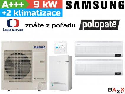 Samsung EHS TDM Plus 9 kW + 2 klimatizační jednotky