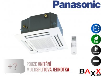 Panasonic kazetová jednotka multisplit