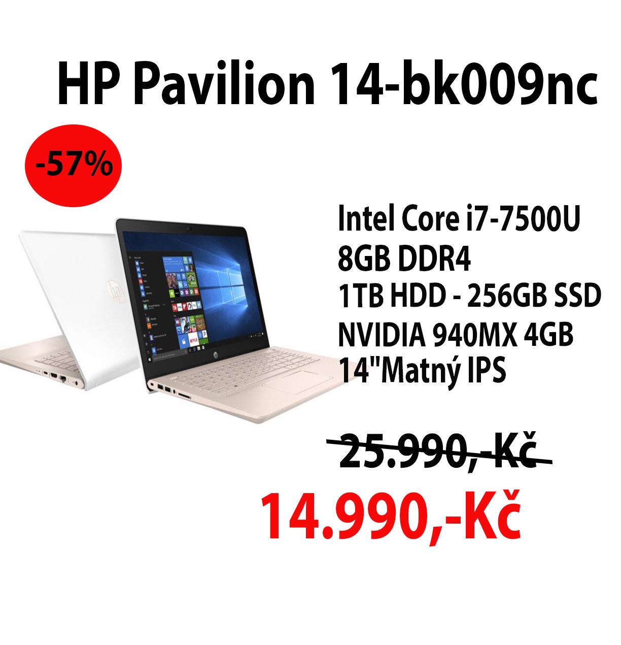 HP Pavilion 14-bk009nc