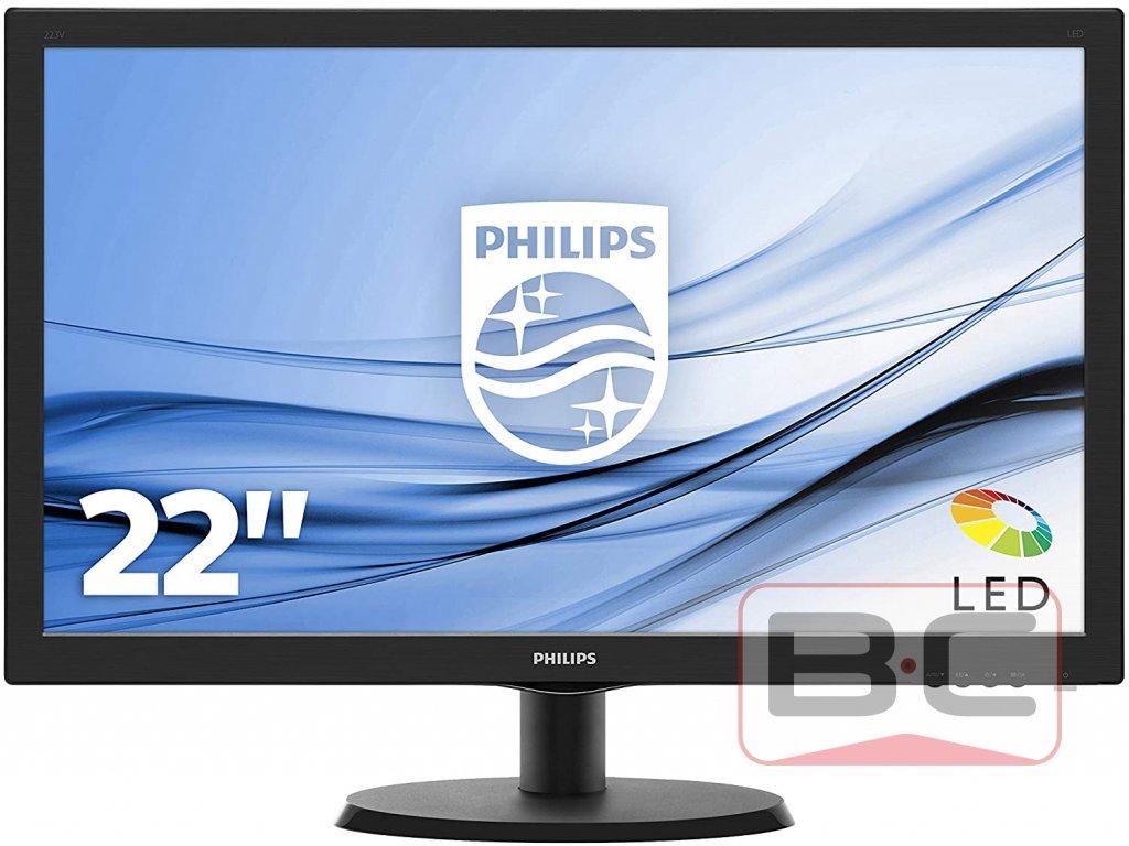 "Philips 223V5LHSB2 FHD - LED monitor 22"""