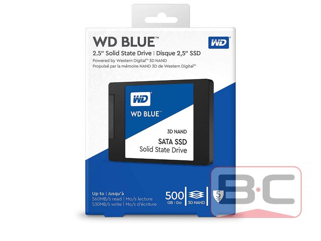 500GB SSD WD Blue Bazarcom.cz