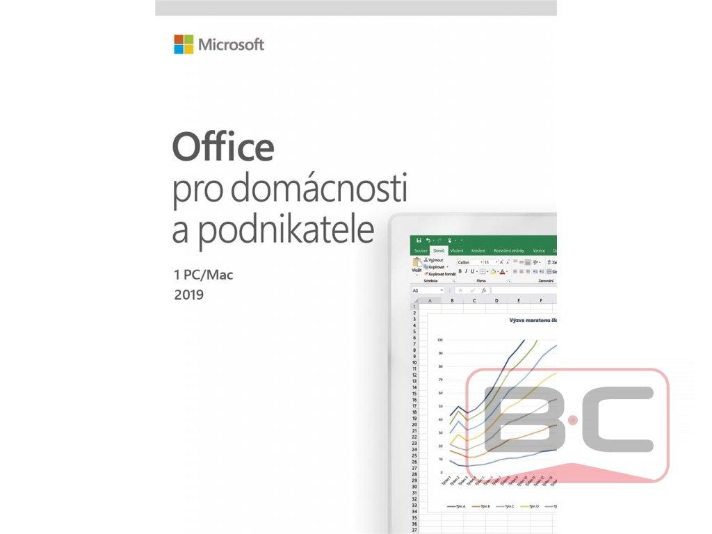 Microsoft Office 2019 pro domácnosti a podnikatele CZ (BOX) BazarCom.cz