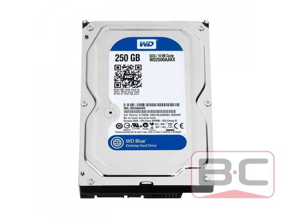 """WD Blue 250GB, 3,5"""" BazarCom.cz"""