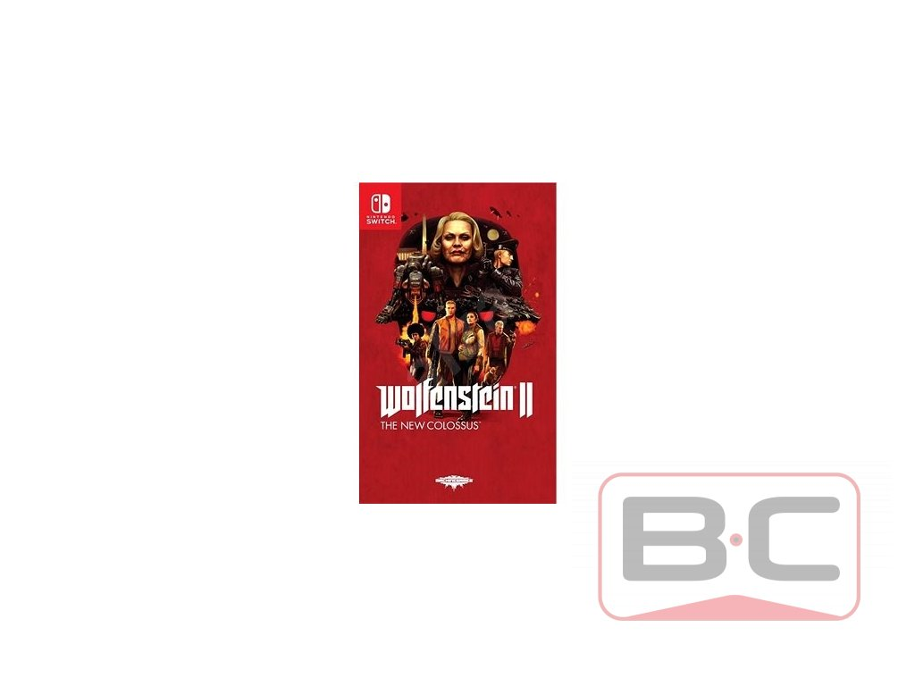 Wolfenstein II The New Colossus Bazarcom.cz