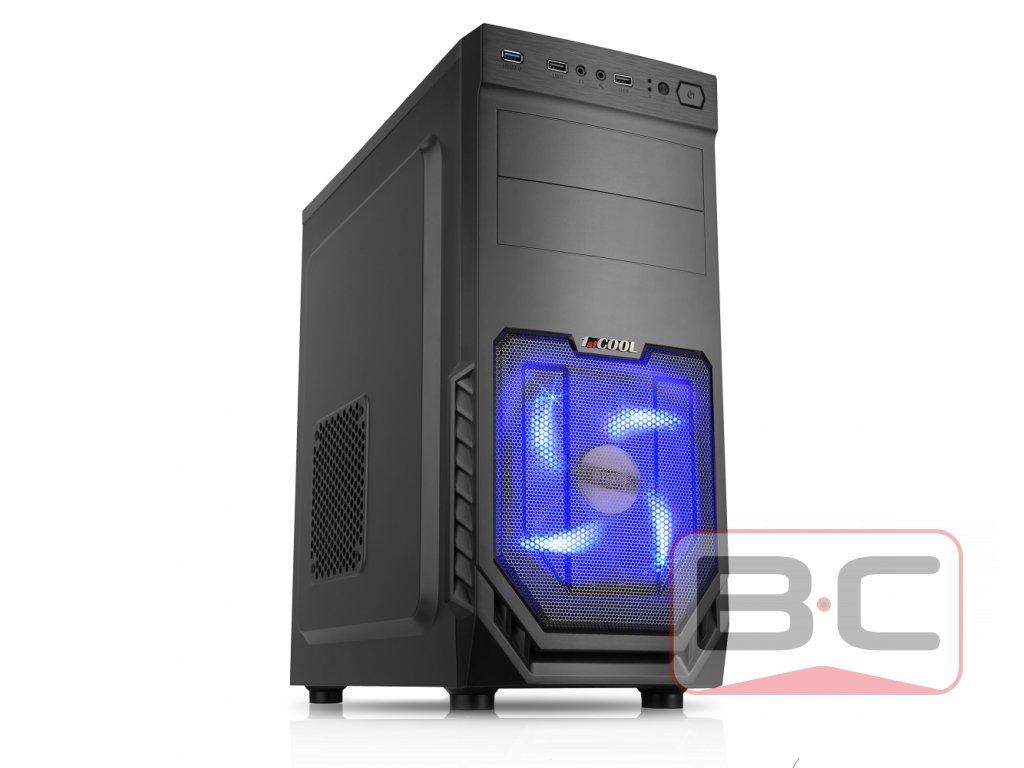 Stolní PC, Intel Core i5-2500, 8GB RAM, 1TB HDD, 120GB SSD, Nvidia GTX 750 1GB