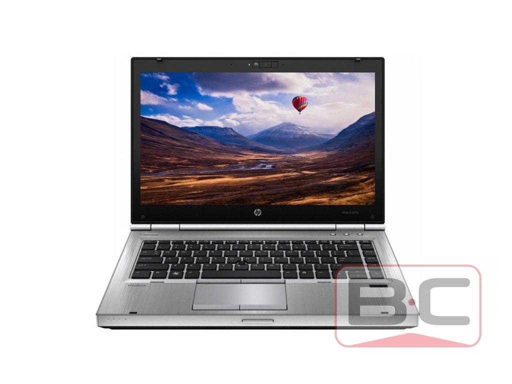 Multimediální notebook do domácnosti HP EliteBook 8470p, stříbrná BazarCom.cz