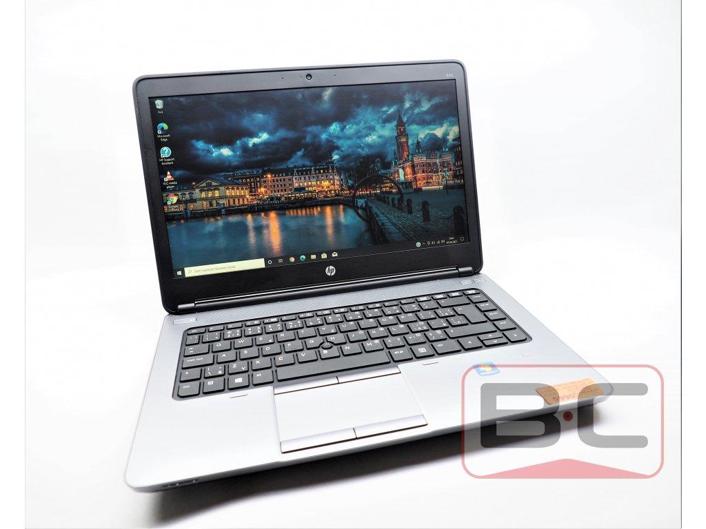 Notebook nejen do kanceláře HP ProBook 645 G1, černá BazarCom.cz