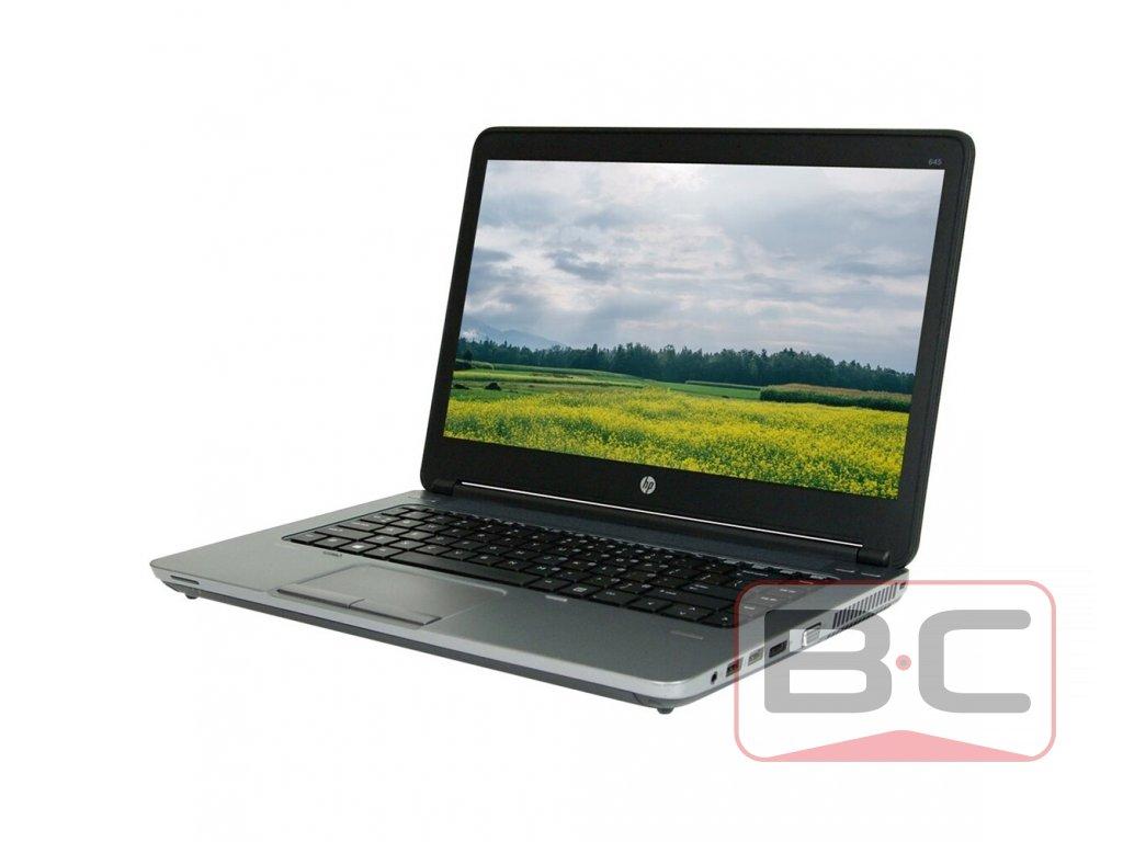 Flexibilní notebook HP ProBook 645 G1, černá BazarCom.cz