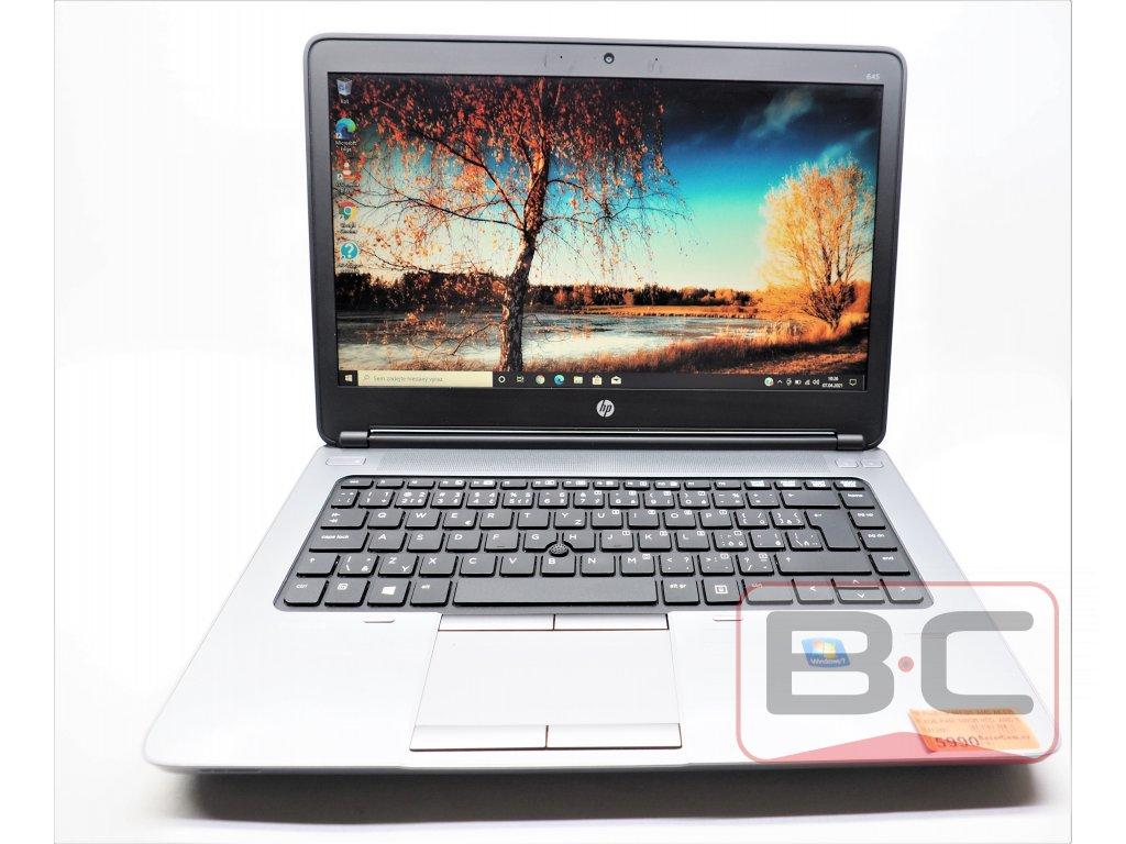 Kompaktní notebook HP ProBook 645 G1, černá BazarCom.cz
