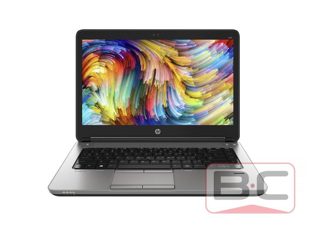 Multimediální notebook do domácnosti HP ProBook 645 G1, černá BazarCom.cz