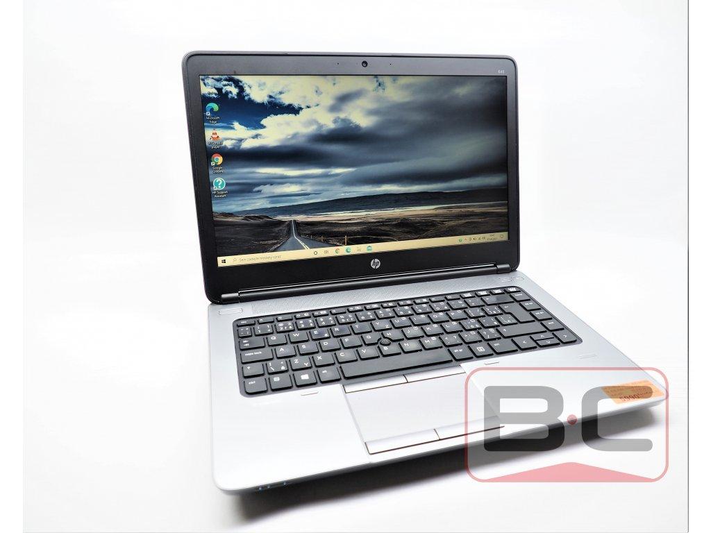 Kvalitní notebook za nízkou cenu HP ProBook 645 G1, černá BazarCom.cz