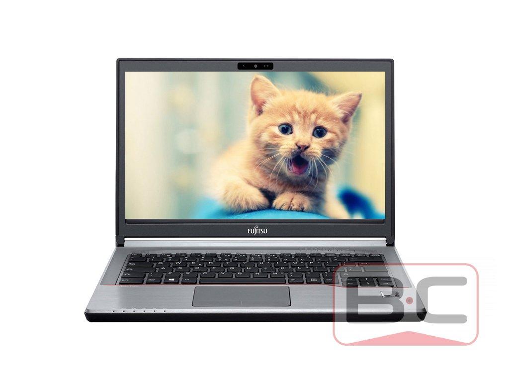 Kvalitní pracant za dobrou cenu notebook Fujitsu LifeBook E744, stříbrná BazarCom.cz