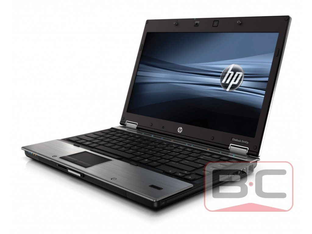 Levný notebook do domácnosti HP EliteBook 8440p, stříbrná BazarCom.cz